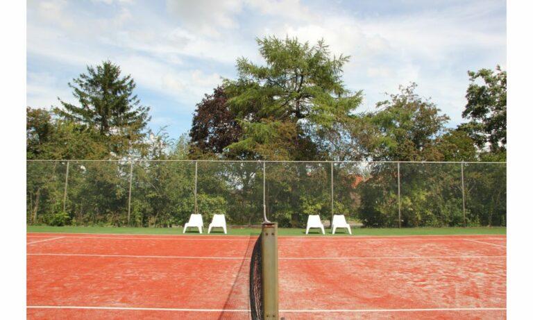 Tennisbaan familiehuis