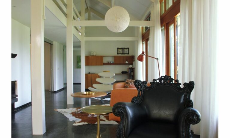 Woonkamer vakantiehuis