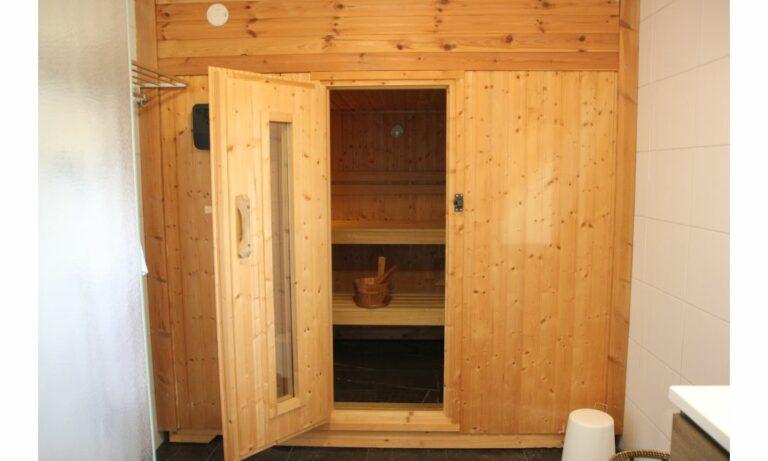 Sauna familiehuis